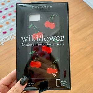 WILDFLOWER iPhone 6/7/8 Cherry Case